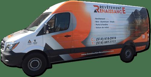 Construction Renaissance Inc. - truck
